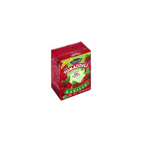 Panzani Tomacouli Aromatisée Au Basilic Panzani Brique 200G