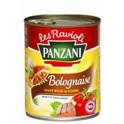 Panzani Plat Cuisiné Ravioli Bolognaise La Boite De 800 G