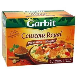 Garbit Plat Cuisiné Cousous Royal La Boite De 760 G