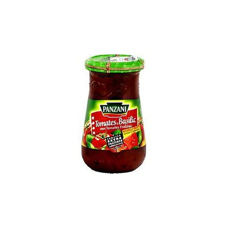 Panzani Sauce Pleine Saveur Tomate Basilic 210G