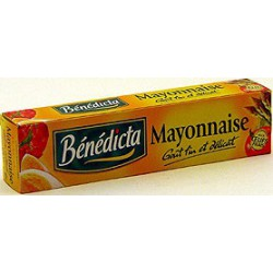 Benedicta Mayonnaise Nature Bénédicta Tube 175G