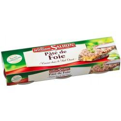William Saurin Pate De Foie 3X1/10 234 G