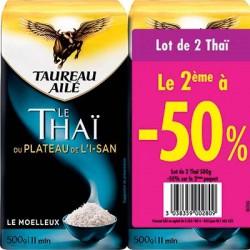 L.2 Riz Thai 500G 2 Ieme A 1/2 Prix Taureau Aile