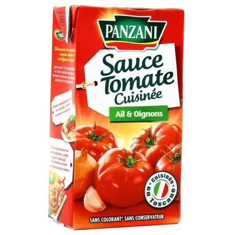 Pz Sce Tomate Ail Oignon 500G