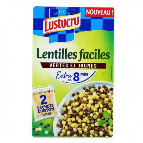 2X150G Duo De Lentilles Lustucru