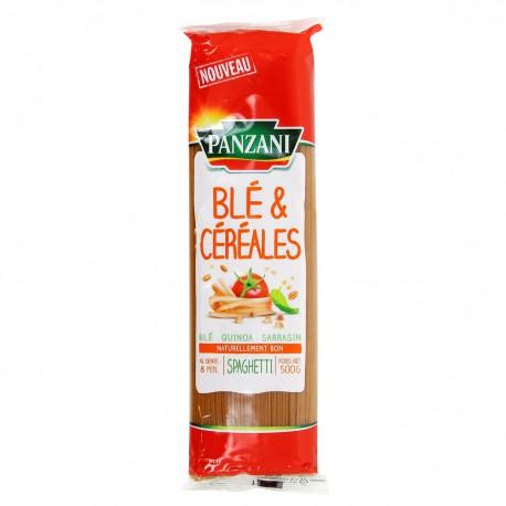 Pz Spaghet Ble & Cereales 500G