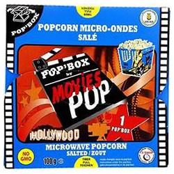 100G Popcorn Sale Movies Pop