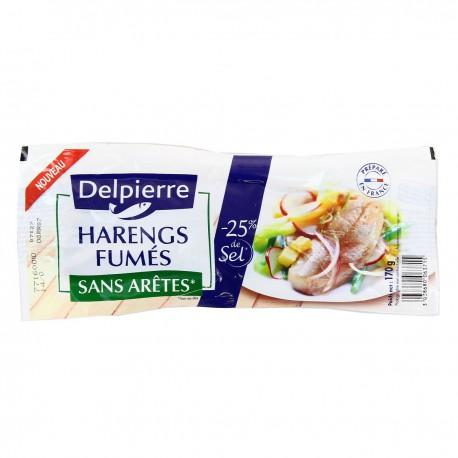 170G Filet Hareng Allege En Sel Delpierre