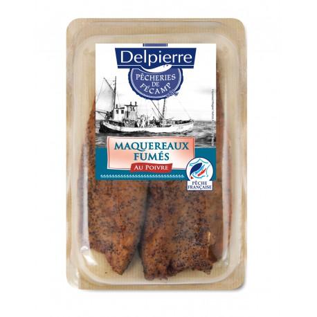 150G Filets De Maquereaux Fumes Au Poivre Pecheries De Fecam