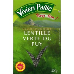 Vivien Paille Lentille Verte Du Puy Le Sachet De 500G