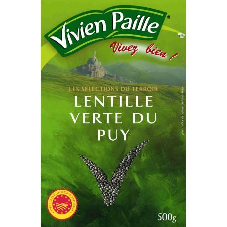 Vivien Paille Lentilles Vertes Du Puy 500G