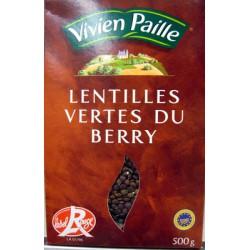 Vivien Paille Lentilles Vertes Du Berry 500G