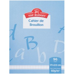 Top Budget Cahier Brouil.96P