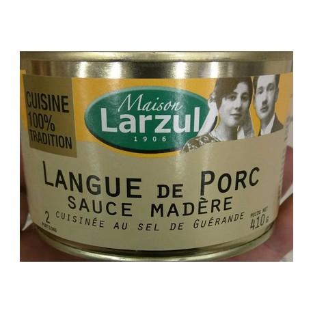 Larzul Langue Porc Sauce Madere 1/1