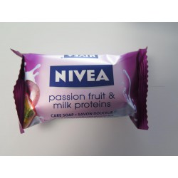 Nivea 90G Passion Fruit And Milk Soap Bar