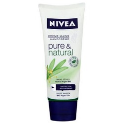 100Ml Creme Mains Pure&Natural Nivea Hand