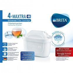 Brita Pack 4 Cart Maxtra+