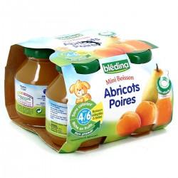Bledina Biberon Abricot Poire 4X12,5Cl