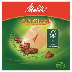 Melitta Filtres Rond Brun X100