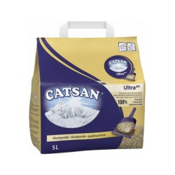 Catsan Litière Agglomérante Plus Catsan 5L