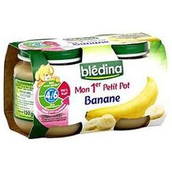 Pack 2X130G Fruit 1Er Age Banane Bledina