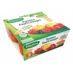 Bledina Fruit Rouges 4X100G