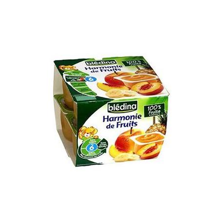 Bledina Harmonie De Fruits 100% Fruits 8X100G