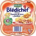 Bledina Emincé Pomme De Terre Jambon Dès 18Mois Blédichef 260G