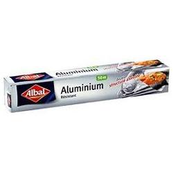 Papier Aluminium 50 M Albal