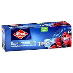 Albal Sac Congel Zip Mini X25
