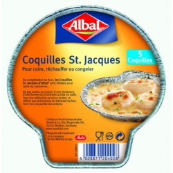 Albal Coquille Saint Jacquesx5