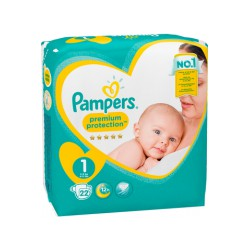 Pampers New Baby Paquet T1X22