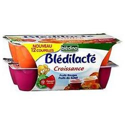 60X12 Bdilacte Fruits Rouge Fts Sol Bledina