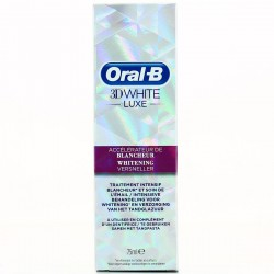 Oralb Accel.Blch 3Dw.Luxe 75Ml