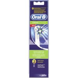 2 Brossettes Electrique Crossa Oral B