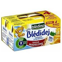 Bledina Blédidej Madeleine 4X250Ml