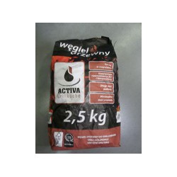 Charcoal - Activa Grillkuche 2,5Kg