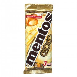 3 Rouleaux Chocolat Caramel Mentos