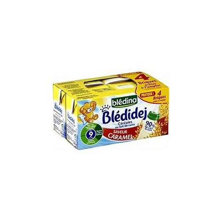 Bledina Blédidej Saveur Caramel Blédina 4X250Ml