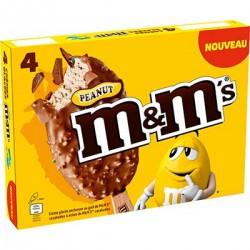 M&Ms Bat Peanut X4 248G