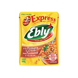 220G Ebly Precuit 2 Minutes Tomates/Basilic