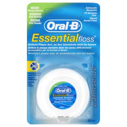 Oral B Fil Dentaire Essent.Floss Cire Menthole 50M
