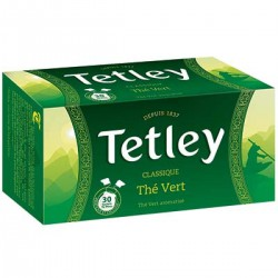 Tetley The Vert Tir Press Boite 30 Sachets