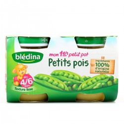Pack 2X130G 1Er Age Petit Pot Petits Pois Bledna