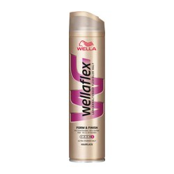 Wellaflex Form & Finish Glanz-Haarlack Ultra Starker Halt 250Ml