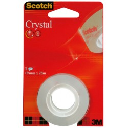 Scotch Ruban Crystal 25Mx19Mm