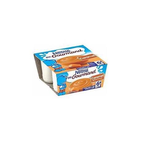 Nestle Crème Dessert Caramel P Tit Gourmand Nestle 4X100G