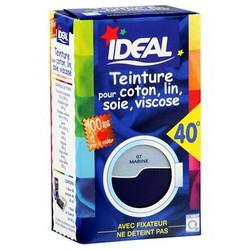 Ideal Teinture Tissus Liquide Bleu Marine