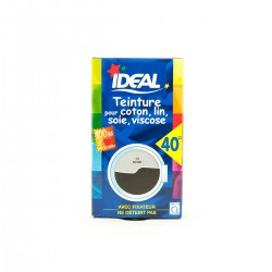 Ideal Teinture Tissus Liquide Noir 40Ml