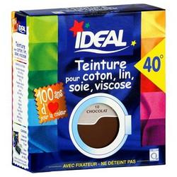 Ideal Teinture Tissus Liquide Brun Chocolat 75Ml